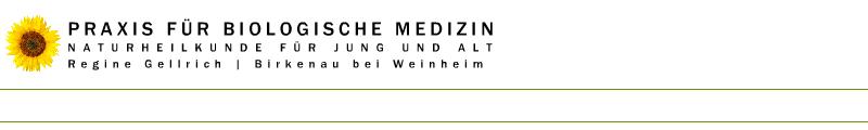 Praxis für Biologische Medizin Regine Gellrich-Westphal Birkenau bei Weinheim